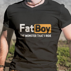 BeKingArt Biker FatBoy Monster That I Ride
