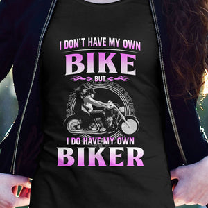BeKingArt Biker Not Own My Bike But Have My Own Biker