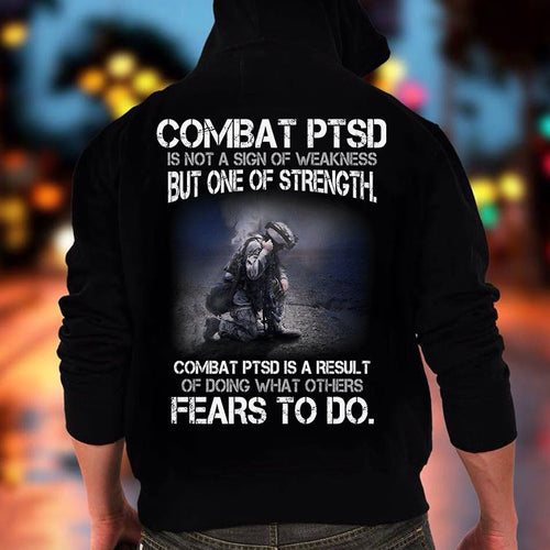 BeKingArt Veteran Combat PTSD Not Sign Weakness But One Strength