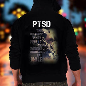 BeKingArt Veteran PTSD You Never Know What People Fighting