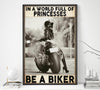 BeKingArt Biker Sportbike In World Full Of Princesses - Poster