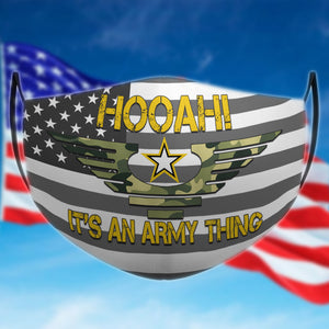 BeKingArt Veteran Hooah It's An Army Thing