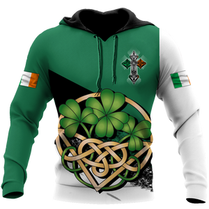 BeKingArt 3D Irish St.Patrick Day Wearing Green