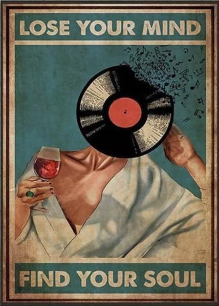 BeKingArt Lose Your Mind Find Your Soul Music Wine