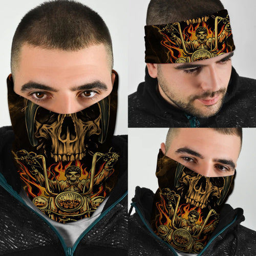 BeKingArt Motorcycle Biker Must Have Accessories Cool Bandana