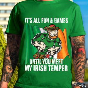 BeKingArt Irish All Fun Game Until Meet My Temper