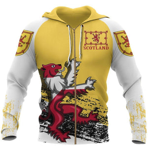 BeKingArt 3D Irish Rampant Lion The Royal Arms Scotland