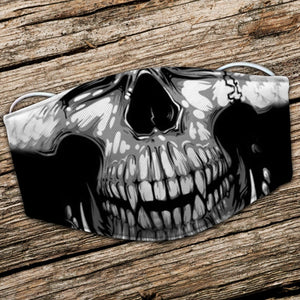 BeKingArt Biker Motorcycle Lover Cool Awesome Skull Rider