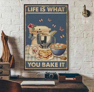 Life Is What You Bake It, Baking Canvas - ATMTEE