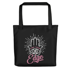 Find Your Edge Tote bag