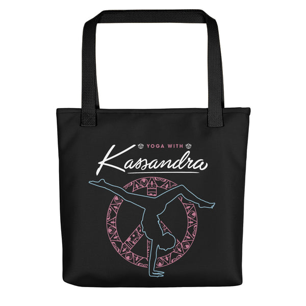Yoga With Kassandra Tote bag