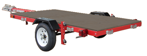 MightyFold 4'x8' Folding Utility Trailer