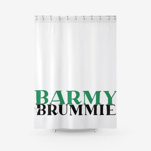 The Barmy Brummie Shower Curtain