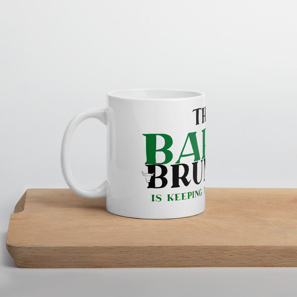 The Barmy Brummie Keeping their Distance Mug