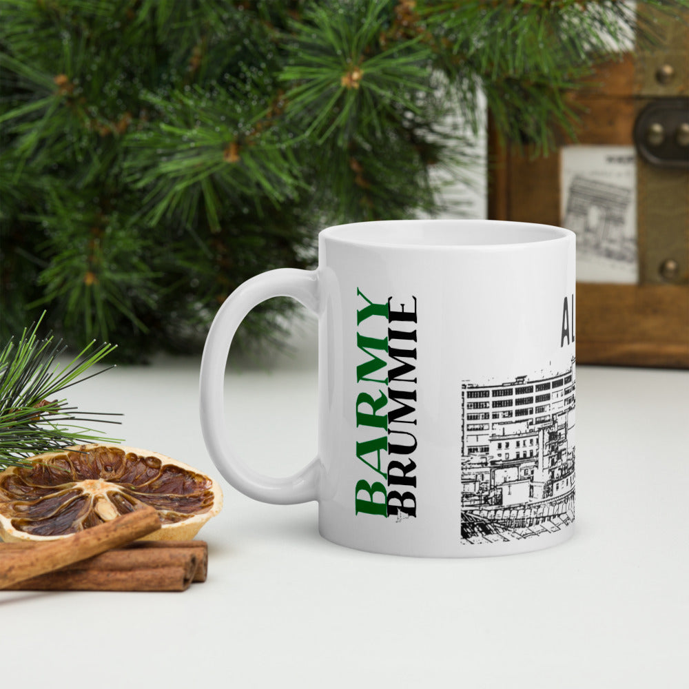 Barmy Brummie mug with Alrite Bab on