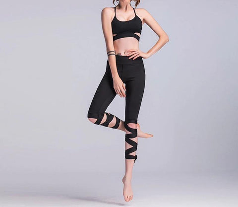Capri Dancing Fitness Leggings