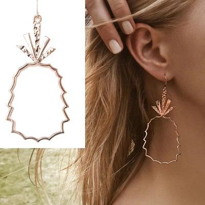 Trendy Boho Gold Statement Earrings