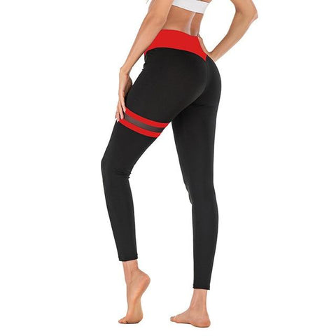 Athletic Fitness Stretchy High Waist Tights Yoga Pant