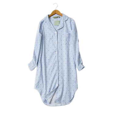 simple Polka Dot nightgowns sleepwear