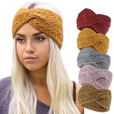 Winter Warmer Ear Knitted Headband