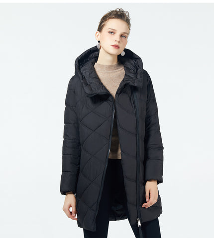 Fashion Women Hooded Parka Down Winter Brand Jacket