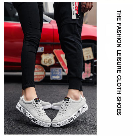 Vulcanized Shoes Sneakers Ladies Lace-up Casual Shoes Breathable Canvas Lover Shoes