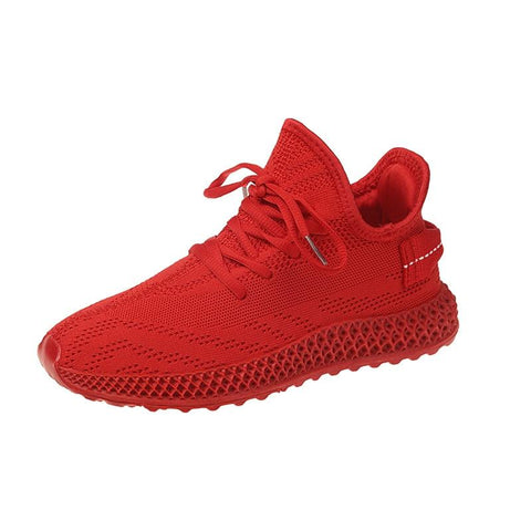 Mesh Breathable Sneakers Fashion Thick Bottom Platform  Casual Shoes