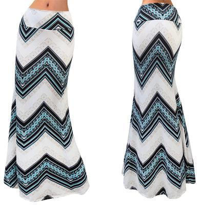 Spring Elastic High-waist Long Pencil Skirt