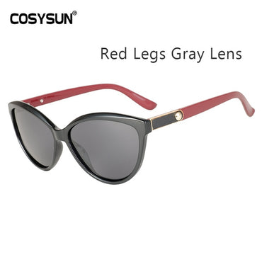 Designer Sunglasses Polarized Cat Eye Lady Vintage
