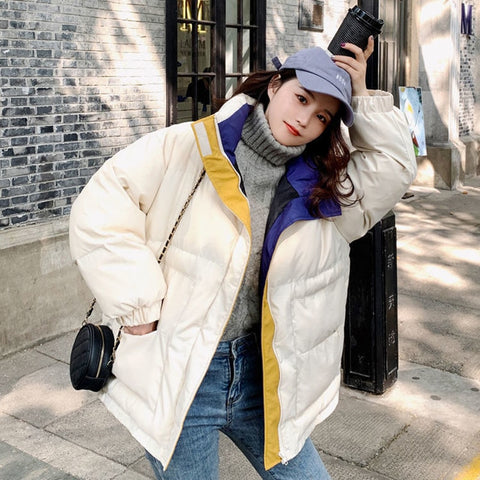 Oversized Winter Parkas Women Thick Warm Thick Coat