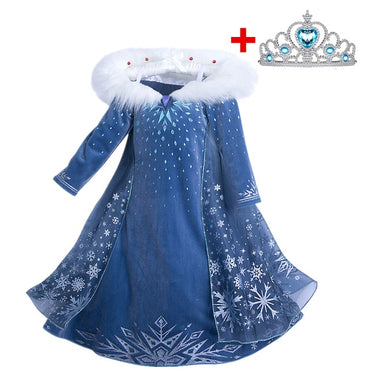 Girls Princess Dress  Costumes Children
