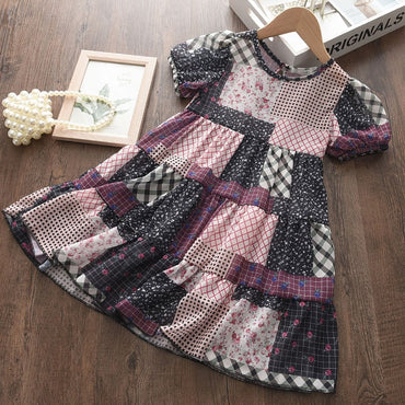 Children Clothing Princess Kids Dresses for Girls Causal Wear Floral
