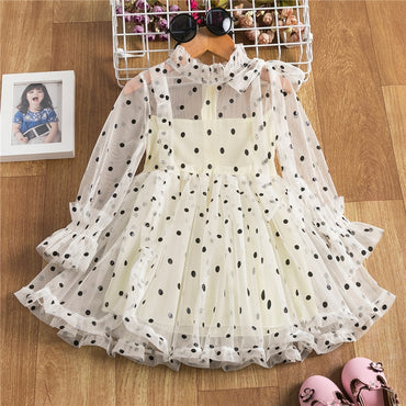 Cute Girls Dress Clothes Flower Children Clothes