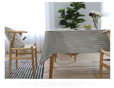Cotton Decorative Rectangular TableCloth