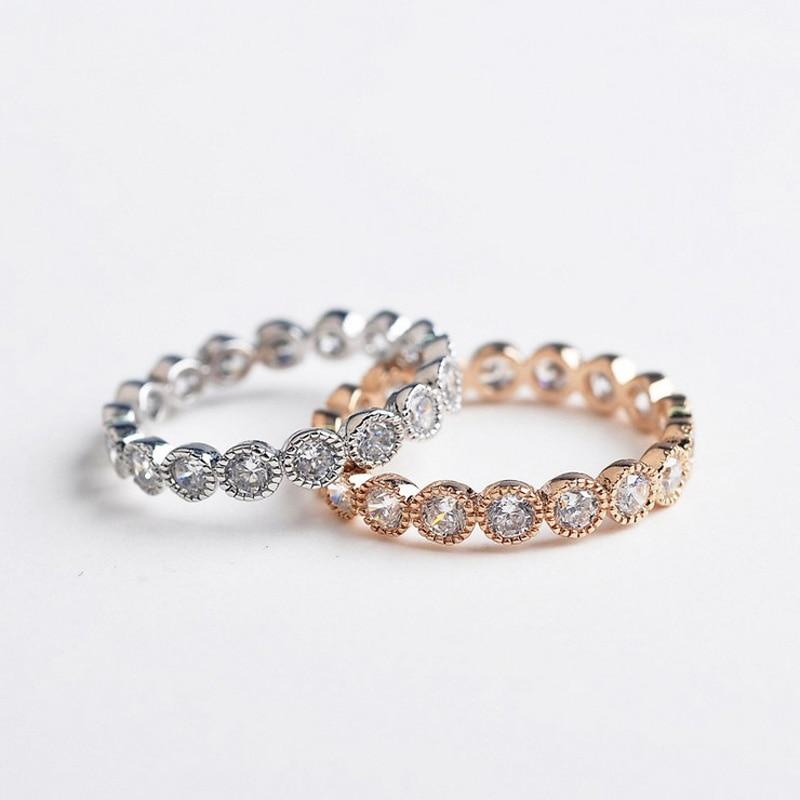 Crystals Cubic Zirconia Round finger