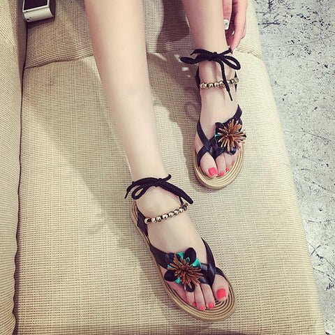 New Fashion Bohemia Shoes Flip Flops  Gladiator Sandals