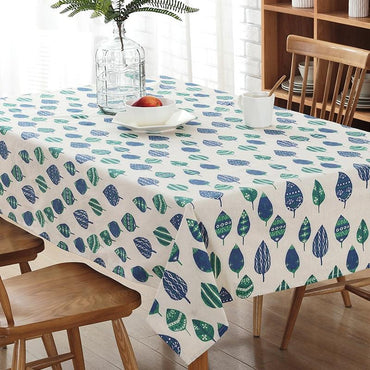 Leaf decor print Boho Tablecloth