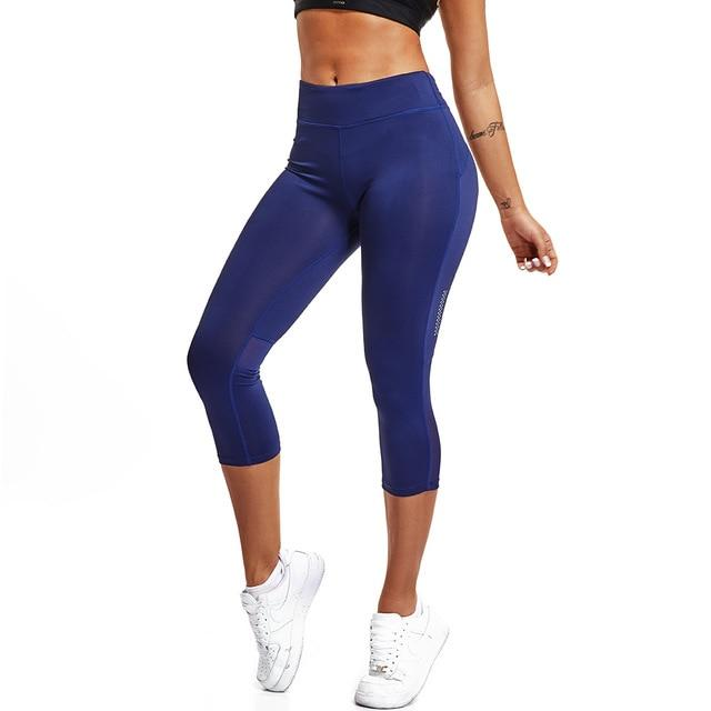 Elastic Yoga Exercise Tight Fitness Gym Pants
