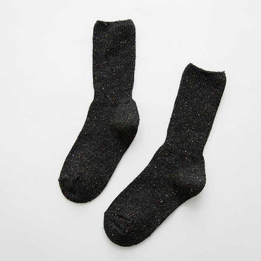 warm creative Heap heap solid color socks