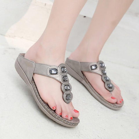 Summer Casual Flat Beach Slipper Flip Flop Sandals