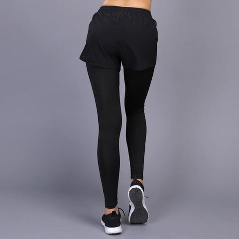 Gym Workout Fitness Leggings and Shorts Compression Running