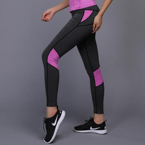 Compression Fitness Gym Workout Running Tights High Waist Sport Pant