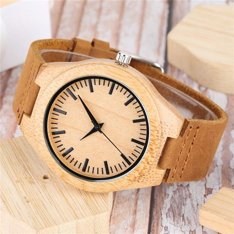 Mandala Bohemian Style Wooden  Watches