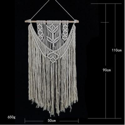 Bohemian Hand Knotted Macrame Wall Art tapestry