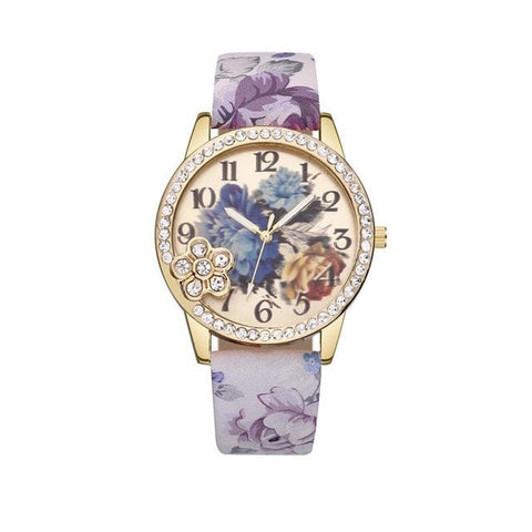 Fashion Folwers Bohemian Retro Style Sweet Watch