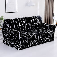 Modern Elastic Living Room Slipcovers 1/2/3/4 Seater Sectional Sofa Covers