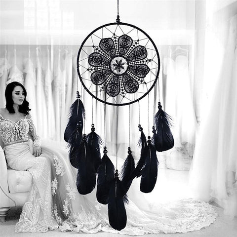 Dreamcatcher Handmade Wind Chimes Hanging Pendant Home Wall Art Hangings Decorations