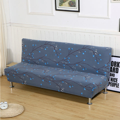 Tight Wrap Couch Cover Without Armrest Sofa Bed Cover