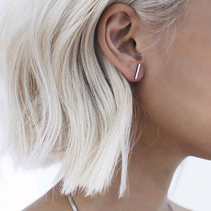 Simple T Bar Earring