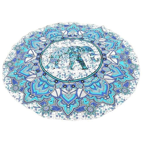 Summer Beach Throw Rug Blanket Mandala Tapestry